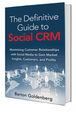 Books by Barton Goldenberg -The Definitive Guide to Social CRM